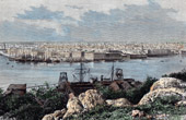 View of Havana (Cuba) - Central America - Port