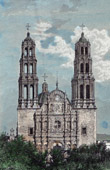 Cathedral  of Chihuahua (Mexico)