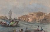 Ansicht von Malta - Fischerboot