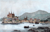 View of Oslo - Christiania - Kristiania - 17th Century (Norway)