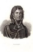 Gravure ancienne - Portrait de Dominique-Jean Larrey (1766-1842)