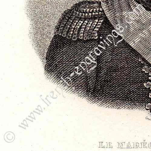 Porträtt av guillaume marie anne brune 1763 1815 marskalk av