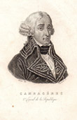 Portrait of Cambac�r�s (1753-1824) - French Politician
