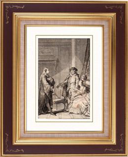 Molière - Jean-Baptiste Poquelin - L'Amour médecin - Comédie