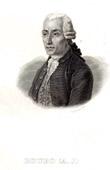 Portrait of Andr� Jacob Roubo