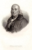 Portrait of Benjamin Franklin (1706-1790)