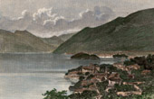 View of the Lake Como - Lombardy (Italy)
