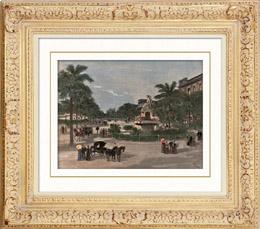 Vista de La Habana - Paseo del Prado (Cuba)