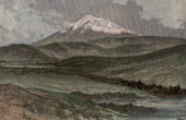 Ansicht von Chimborazo Vulkan (Ecuador)