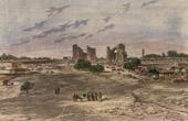 View of Samarkand (Uzbekistan) - Central Asia - Sher Dor Madrasah