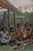 Angaité Indianer - Gran Chaco (Südamerika)