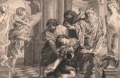 Stich von Tod von Achilleus (Peter Paul Rubens)