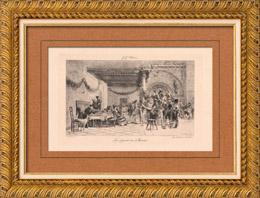 Le D�part des Mari�s - Marriage (Jehan Georges Vibert)