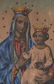 Madonna - The Virgin and Child Jesus - Our Lady of Czestochowa - Poland