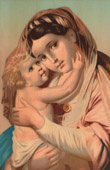 Madonna - The Virgin and Child Jesus - Mary Help of Christians