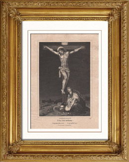 Jesus on the cross - The Deposition of Christ - Lamentation