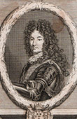 Portrait of Louis Fran�ois de Boufflers (1644-1711) - Marshal of France