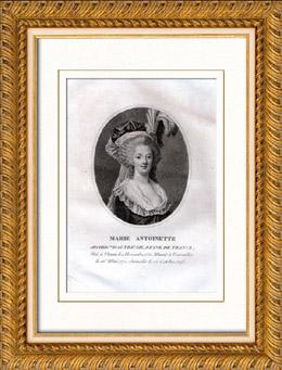 Porträt von Marie Antoinette (1755-1793)