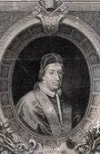 Portrait of Pope Clement XI - Giovanni Francesco Albani