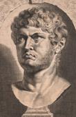 Statue - Bust of Nero (37-68) - Roman Emperor