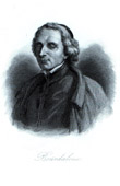 Portrait of Louis Bourdaloue (1632-1704) - French Jesuit - Preacher