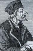 Portrait of Ioan Hussus Boemus