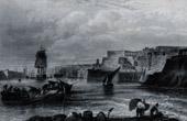 Ansicht von Malta - La Valletta - Fischerboot