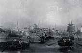 View of the Bosphorus - Constantinople - Istanbul - Sea of Marmara (Turkey)