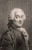 Portrait of Marmontel (1719-1798)