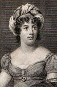 Portrait of Madame de Sta�l - Germaine Necker (1766-1817)