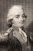 Retrato de Jean-Pierre Claris de Florian (1755-1794) - Poeta y Fabulista Francés