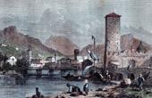 View of Trento (Italy)