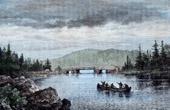 Landscape of Nova Scotia - Ship Harbour (Canada)