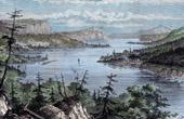 View of Nipigon River (Ontario - Canada)