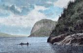 View - Cap Eternit� - Cap Trinit� - Saguenay (Quebec - Canada)