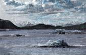 Landskap av Alaska (USA) - Amiralitets�arna - Papua Nya Guinea