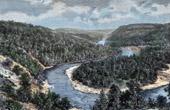 Canadian landscape - Sainte-Marguerite (Quebec - Canada)