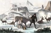 Hyperboreans with their Reindeers (Polar Circle)