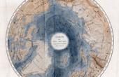 Karte - Zirkumpolare - Arktis