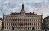 City Hall of Valenciennes (North - France)