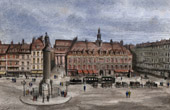 View of Lille (North - France) - Grand Place - Vieille Bourse - Belfry