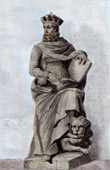 Statue of Casimir III the Great