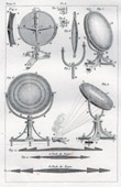 Etsning av Buffon - Naturhistoria - Instrument - Optik