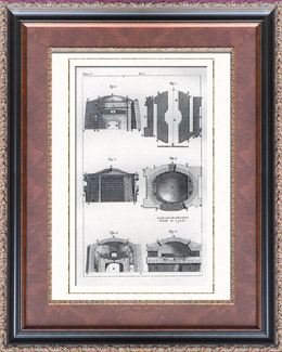Buffon - Naturkunde - Instrumente - Ofen - Autoklav - Sterilisation