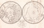 Buffon - Natural history - Map of the two Polar regions - 1778