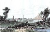 Vue de Waterloo - Hougomont (Belgique)