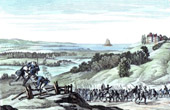 War in the Vend�e - French Revolutionary Wars - Retreat of the Vendean Army in Cancale