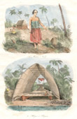 Tonga Islands - Vavao - Mariner Captive English Sailor - Hangar for Dugouts - Pirogues