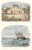 Tonga Inseln - Haus der Englischen Missionare im Hifo - Das Astrolabe auf den Riffen