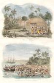 Tonga Inseln - Tonga Tabu - Tongatapu - Mafanga - Angriff des Bootes des Astrolabe